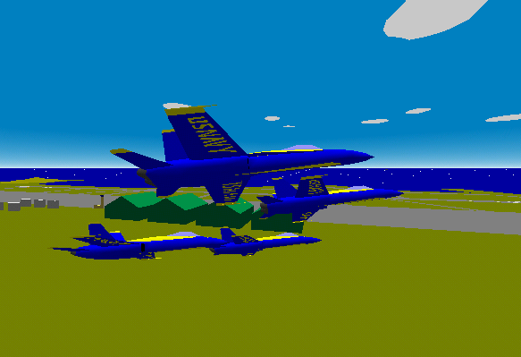 YS Flight Simulator screenshot