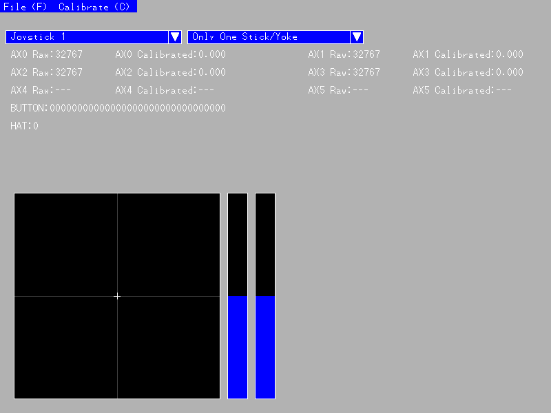 YSFLIGHT COM - Mac OS X Joystick Reader and Calibrator
